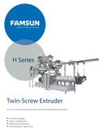 H Series Twin Screw Extruder